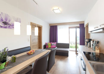 appartement ladis in fiss esstisch